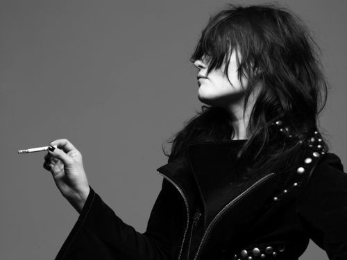 Alison Mosshart. Love her style, The Dead Weather & The Kills
