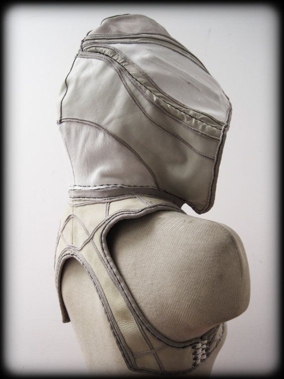 White Anchor and Hood Holster with Pockets by ahniradvanyi on Etsy, $253.80