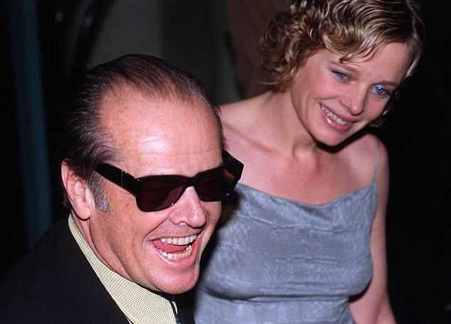 Romantic history: Jack dated actress Rebecca Broussard, 51, between 1989 and 1994