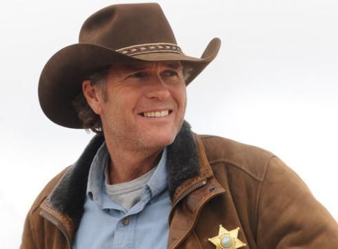 Australian actor Robert Taylor plays Wyoming Sheriff Walt Longmire in A's new Western.