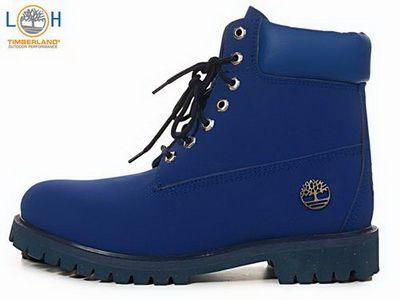Men's Timberland Custom Boots - Blue  £89.98