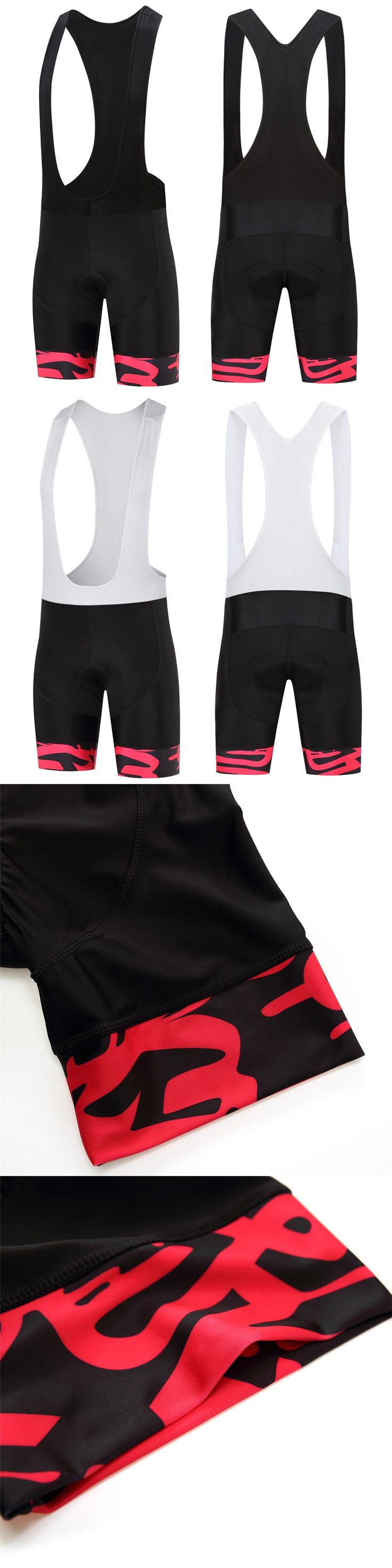 FUALRNY Black Cycling Bib Shorts PRO TEAM Race Lightweight Cycling/Bike Shorts Bottom Italy grippers at leg High density 9D PAD