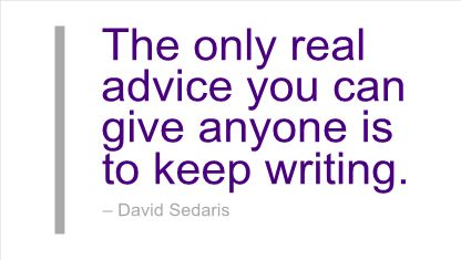 david sedaris essay on writing Me talk pretty one day, published in 2000, is a bestselling collection of essays by american humorist david sedaris the book is separated into two parts the book is separated into two parts.