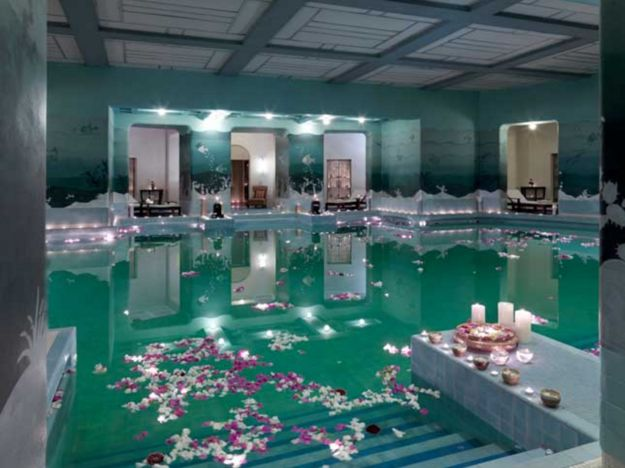 And then go skinny dipping in the Zodiac Pool*.   An Indian Palace Has Been Declared The World's Best Hotel