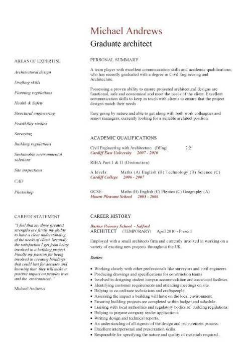 Construction CV template, job description, CV writing, building, curriculum vitae, examples