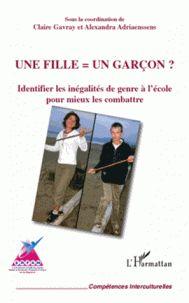Claire Gavray et Alexandra Adriaenssens - Une fille = un garcon ? - Identifier les inégalités de genre à l'école pour mieux les combattre. -  http://hip.univ-orleans.fr/ipac20/ipac.jsp?session=138TH38729472.16&menu=search&aspect=subtab48&npp=10&ipp=20&spp=20&profile=scd&ri=&term=Une+fille+un+garcon+%3F+-+Identifier+les+in%C3%A9galit%C3%A9s+de+genre+%C3%A0+l%27%C3%A9cole+pour+mieux+les+combattre+&limitbox_1=none&index=.GK