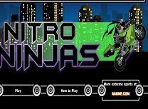 Omul Ninja pe Motocicleta