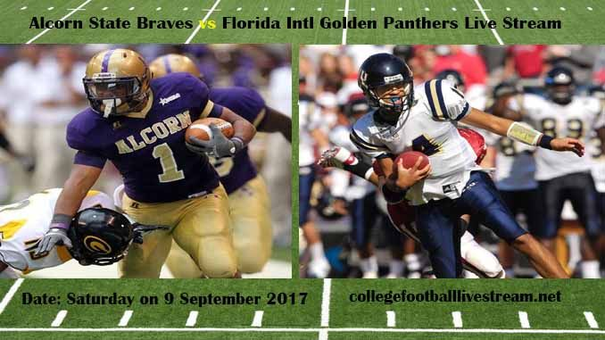 Alcorn State Braves vs Florida Intl Golden Panthers Live Stream Teams: Braves vs Panthers Time: TBA Week-2 Date: Saturday on 9 September 2017 Location: FIU Stadium, Miami, FL TV: ESPN NETWORK Alcorn State Braves vs Florida Intl Golden Panthers Live Stream Watch College Football Live Streaming...