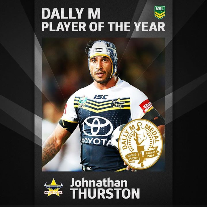 Johnathan Thurston - Dally M Player of The Year