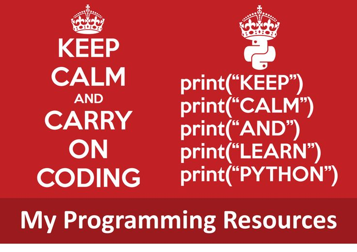 My programming resources