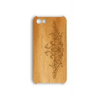 Деревянный чехол от 2stick.ru Абстрактный узор племени Сиагаты