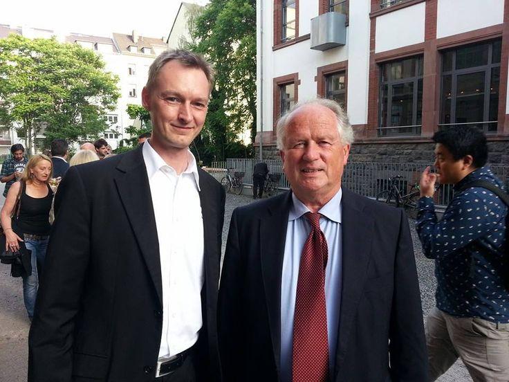 Sascha Bahll und Prof. Dr. Heiner Flassbeck