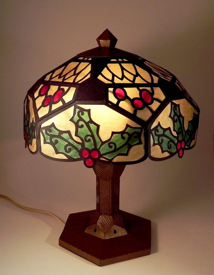DIY Holiday Accent Lamp Design
