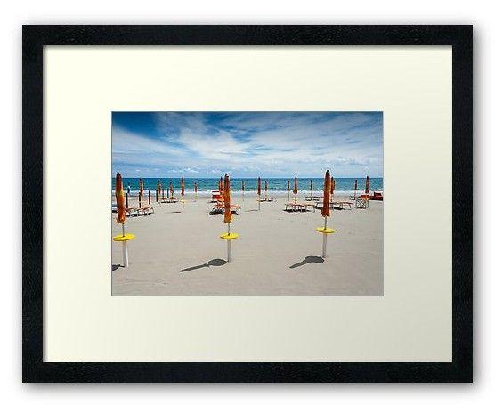 Laigueglia Beach With Closed Sun Umbrellas Framed Prints https://www.redbubble.com/people/markuk97/works/30266743-laigueglia-beach-with-closed-sun-umbrellas?asc=t&p=framed-print via @redbubble #Laigueglia #Italy #beach #framed #print #art #summer #sea #sandy #tourism #water #ocean #coast #blue #sky #clouds #umbrellas #landscape #sunny #relaxation #shore #hot #Mediterranean #leisure #Europe #Liguria #vacation
