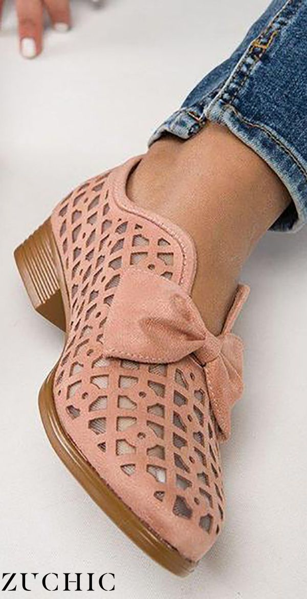 Hot Sale>>FAUX LEATHER CHUNKY HEEL LOAFERS