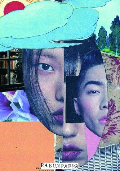 Dailycollage 21.Youthful? / 22 Feb,16  #papercollage #collage #rabunpaper