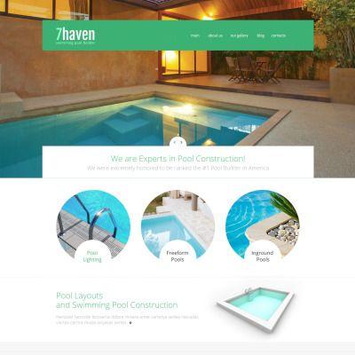 Swimming Pool Builder Bootstrap Joomla Theme