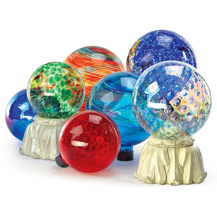 Glass Gazing Balls, Add Interest To Your Garden With These Glass Gazing  Balls. Mix And Match To Fit Your Own Style!