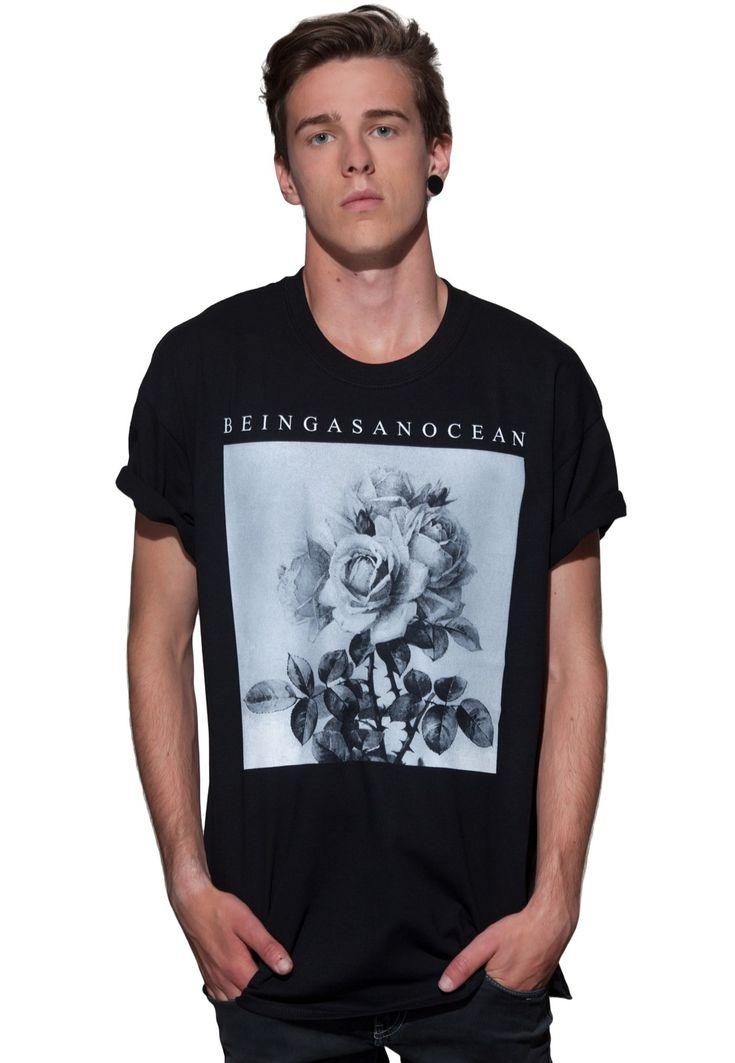 Bestell Being As An Ocean - Roses - T-Shirt für nur 17,99€ (17.10.13) bei Impericon - Europas größter Shop für Hard-, Metal und Deathcore.