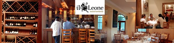 Il Leone - 22 Cobern Street Corner of Prestwich, for reservations call 021 421 0071 or visit their website at www.mastrantonio.com
