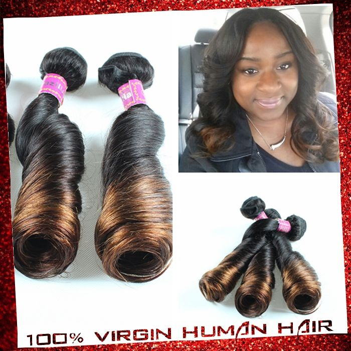 Find More Hair Weaves Information about 7A Unprocessed Virgin Human Hair Spring Curls Ombre Hair Extension 3/4pcs Virgin Remy Brazilain Hair Bouncy Curls hair bundle ,High Quality Hair Weaves from Xuchang Ishow Virgin Hair  Co.,Ltd on Aliexpress.com