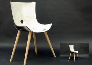 Recycling designpreis tub chair stuhl aus einer alten for Stuhl upcycling