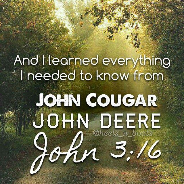 Keith Urban - John Cougar, John Deere, John 3:16 #KeithUrban #JohnCougarJohnDeereJohn316 #countrymusiclyrics #countrymusic #countrylyrics