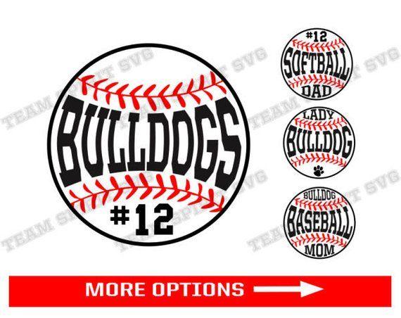 Bulldogs Baseball Svg Softball Laces Download File Baseball Etsy Softball Mom Svg Baseball Svg Softball Svg