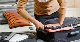 REJSEKLAR. Kuffertpakningen kan blive meget nemmere med 20 pakketips, som du får herunder. (Arkivfoto) Foto: YinYang