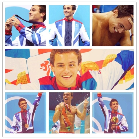 Tom Daley, Team GB, diving, Bronze Medal, London 2012