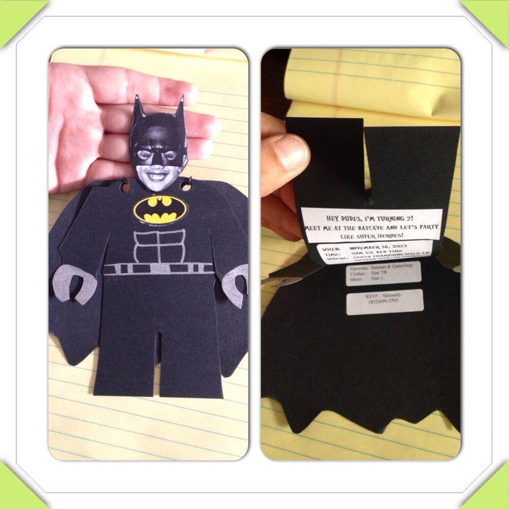 78 best Lego Batman Party images on Pinterest | Birthdays, Craft ...
