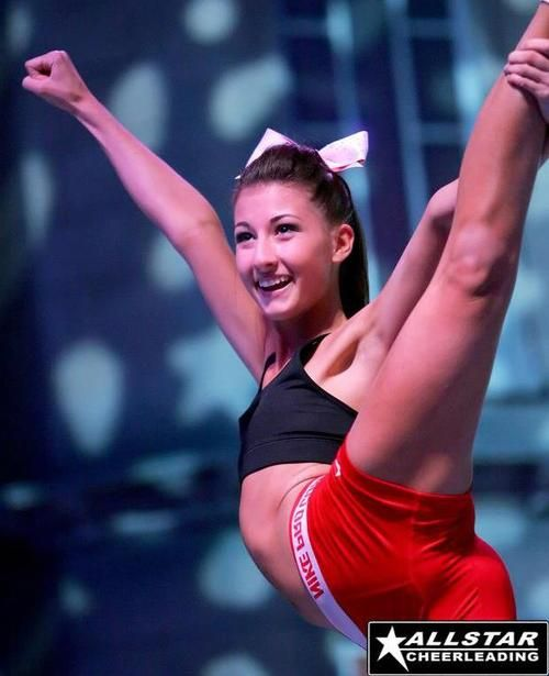 Megan DeAngelis... Scale ! CHEER stunt cheerleading m.27.75 moved from @Kythoni Cheerleading: Competitive board http://www.pinterest.com/kythoni/cheerleading-competitive/ #KyFun