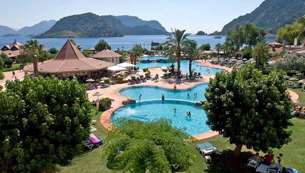 Marti Resort de Luxe Hotel Tyrkiet. Se mere på www.bravotours.dk @Bravo Tours #BravoTours #Travel