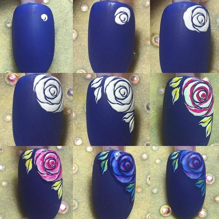 пансионаты, дизайн ногтей розы фото пошагово времени займет