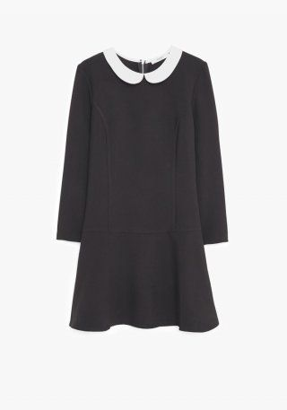 La+petite+robe+noire+Mango,+46€