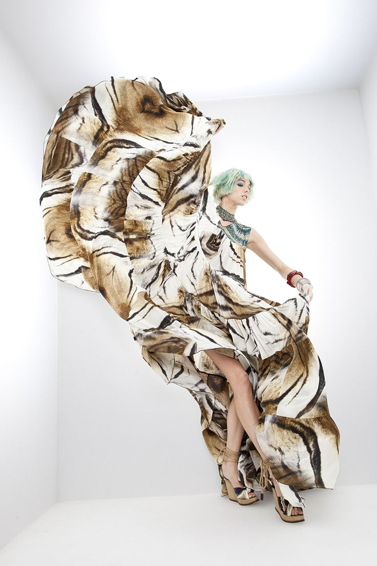 Sphinx BENGAL Teared Dress SS11 | LABYRINTH | @CAMILLAWITHLOVE #CAMILLAWITHLOVE