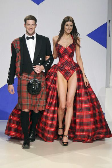 Dressed To Kilt Gwen Russell Bridal Couture Style