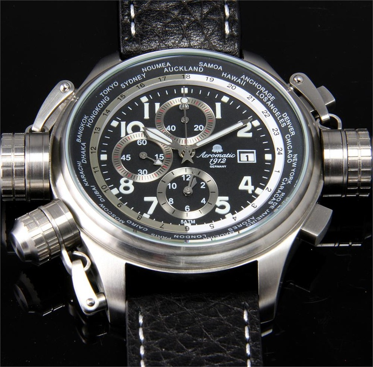 Aeromatic worldtime watch the coolest watches from for Watchismo