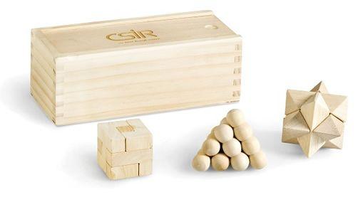 Brain teaser game puzzel set