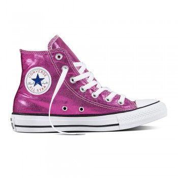 Converse Damen Schuh Chuck Taylor HI Magenta/ black/ white (pink)