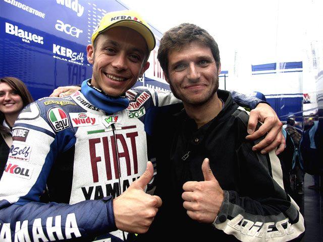 Valentino Rossi and Guy Martin #rossi
