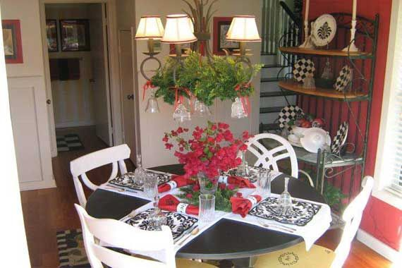 25 best ideas about red dining rooms on pinterest red for Dining room decorating ideas red walls