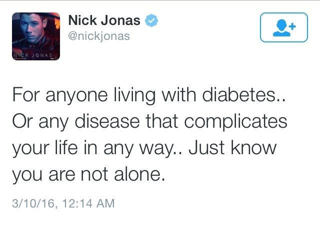 Sometimes all I need is Nick Jonas saying these things and everything's okay.