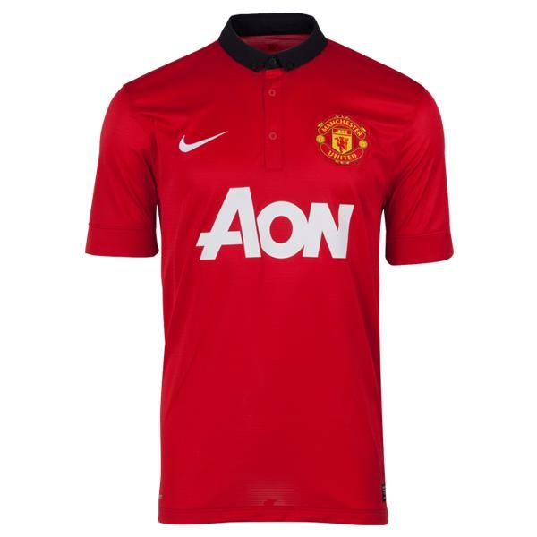 Manchester United Home Jersey 2013/14  曼聯主場球衣 2013/14  US$69.10 HK$538.98
