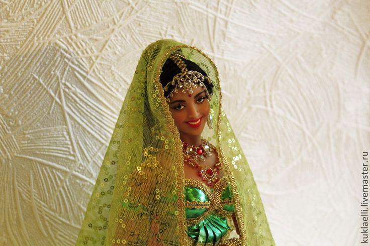 Купить Кукла Индианка - кукла индианка, индийская кукла, индийский танец, индийский костюм
