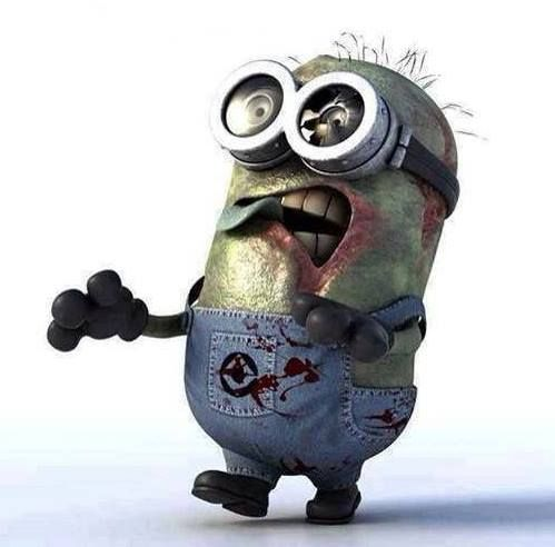 Minion Zombi.