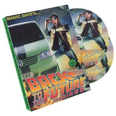 Back to the Future Bookings by Dave Allen - DVD @ niftywarehouse.com #NiftyWarehouse #BackToTheFuture #Movie #Film #Movies #Gifts