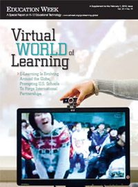 This report, part of Education Week's ongoing series on virtual education, draws out many of those lessons to be learned from other countries and highlights some of the more distinctive virtual education partnerships emerging between schools in the United States and those outside its borders, while noting the difficulties that arise for educators and schools when taking on such initiatives.
