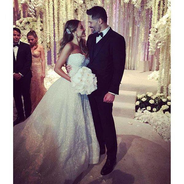 Sofia Vergara Wedding with Joe Manganiello in Pictures