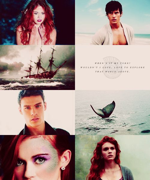 Fairytale → real life: The Little Mermaid Holland Roden as Ariel Adam Gregory as Prince Eric